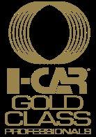 Gold with the I-Car Gold Class program